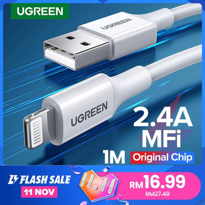 The UGreen 11.11 sale lightning cable