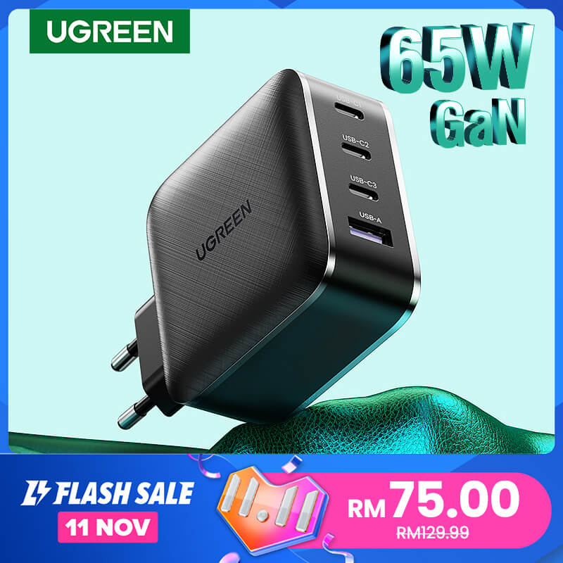 The UGreen 11.11 sale GaN charger