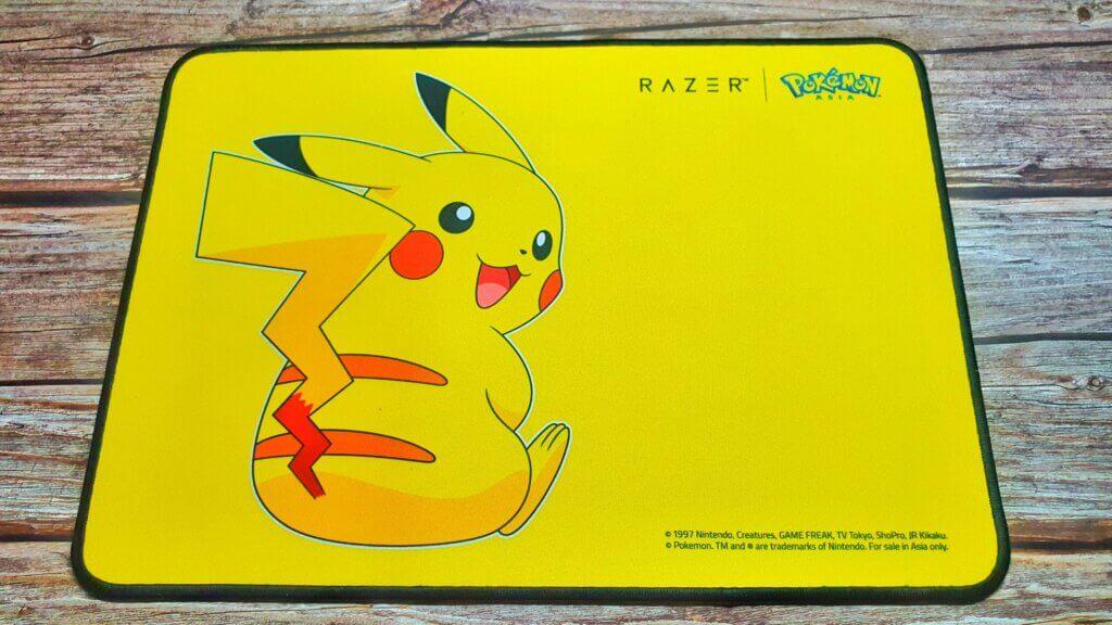 Pokémon Razer mouse pad