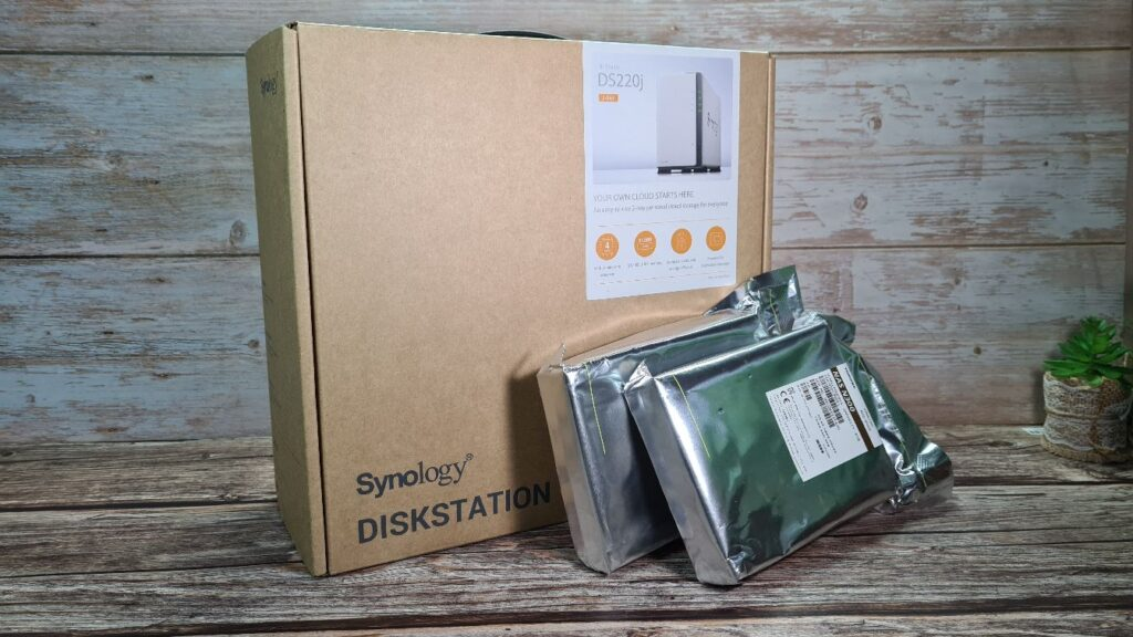 Synology DiskStation DS220j  external contents