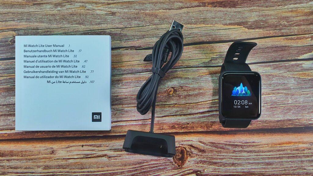 Xiaomi Mi Watch Lite box contents