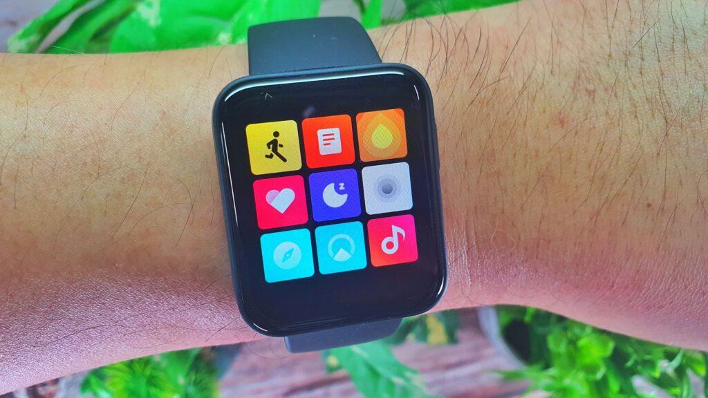 Xiaomi Mi Watch Lite review menus