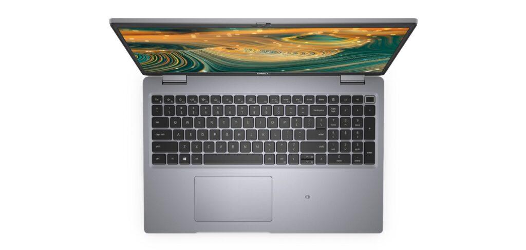 Latitude 5320 top keyboard