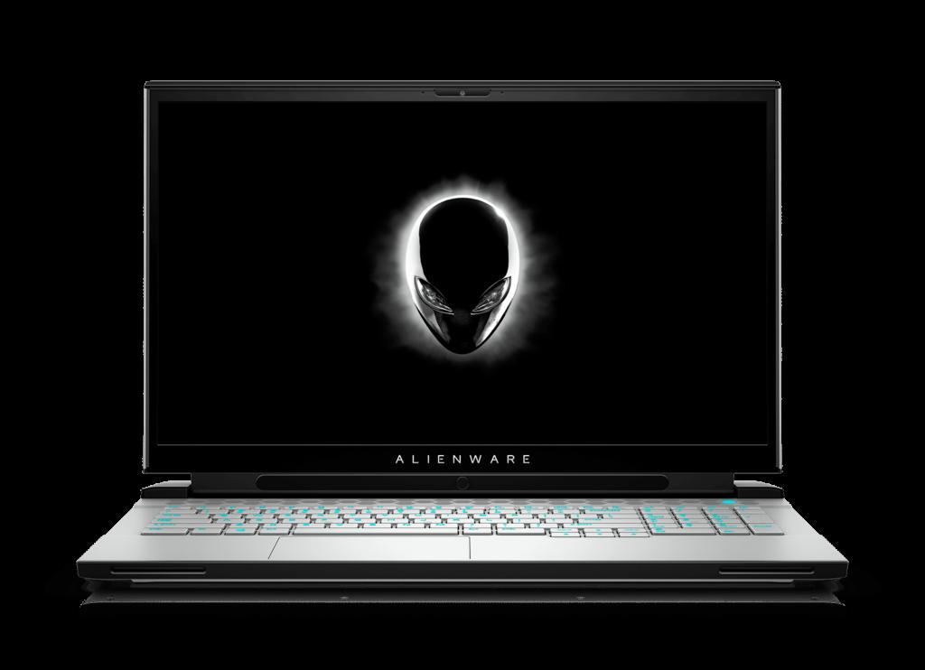 Alienware m17 R4 front hero