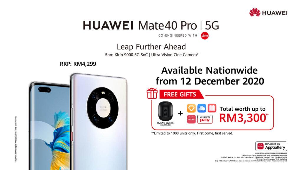 Huawei Mate 40 Pro price promos