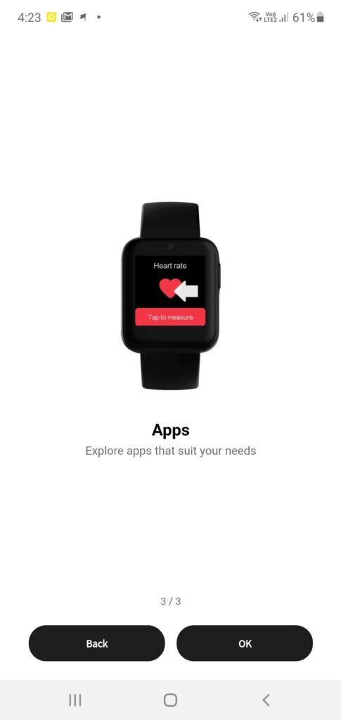Xiaomi Mi Watch Lite Review setup 1