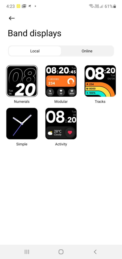 Xiaomi Mi Watch Lite Review band options 2