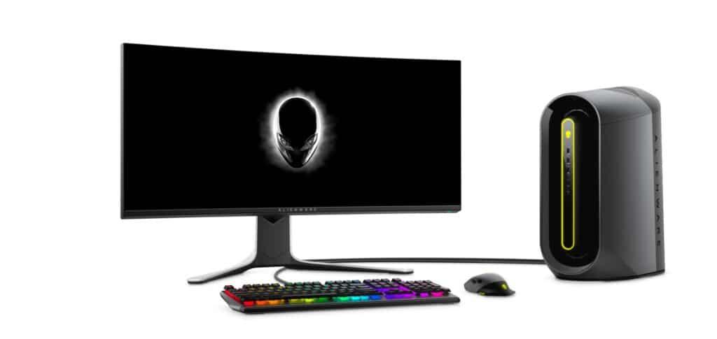 Alienware Aurora Ryzen Edition R10 set shot