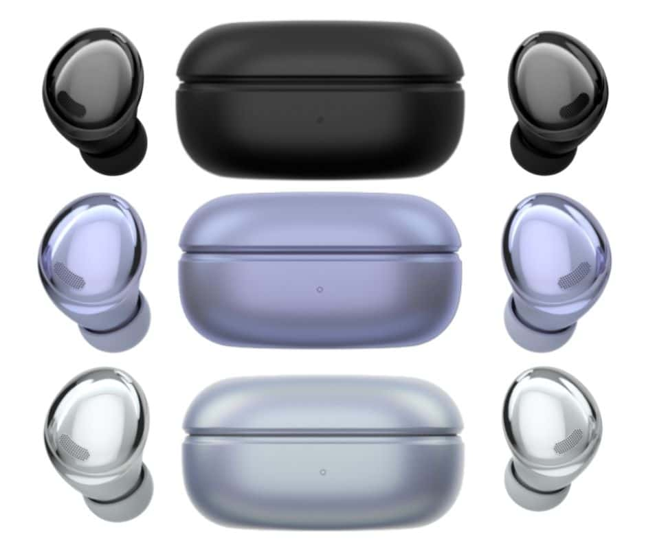 Galaxy Buds Pro colours