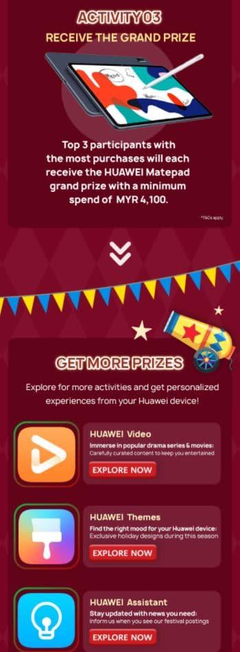 huawei app gallery festival get stuff