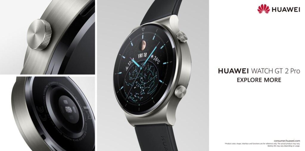 Huawei Watch GT 2 Pro hero