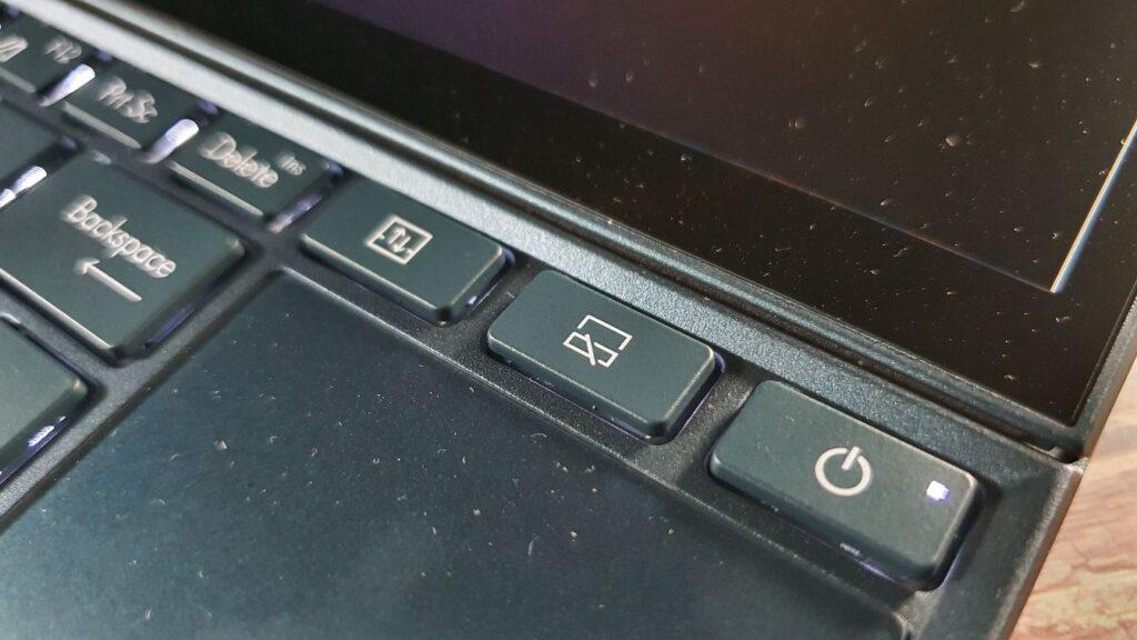 ZenBook Duo 14 UX482 shortcuts