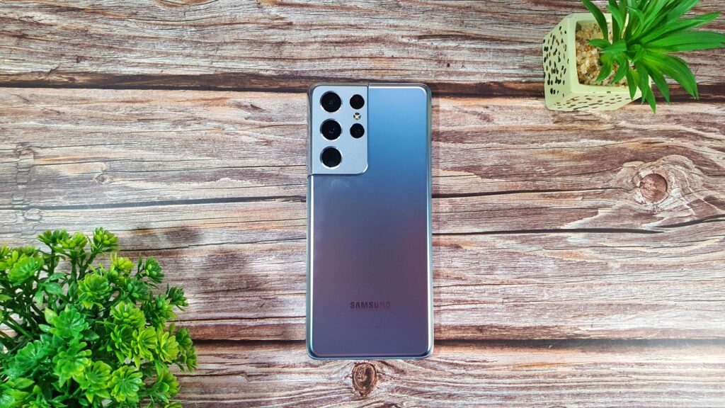 Samsung Galaxy S21 Ultra 5G review rear