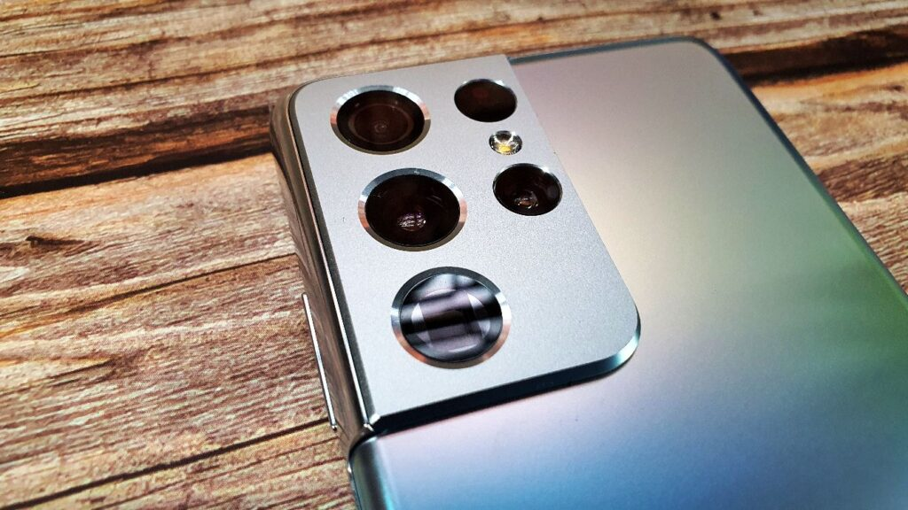 Samsung Galaxy S21 Ultra 5G Review rear camera