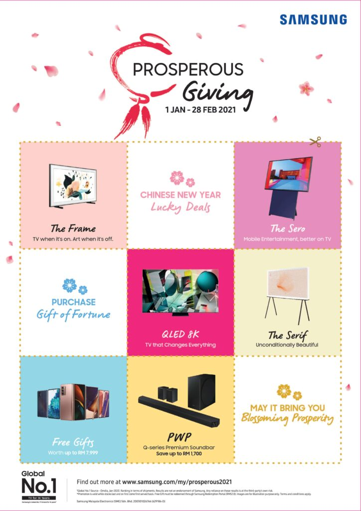 Samsung Prosperous Giving promo offers amazing free gifts and more for CNY 2021 1