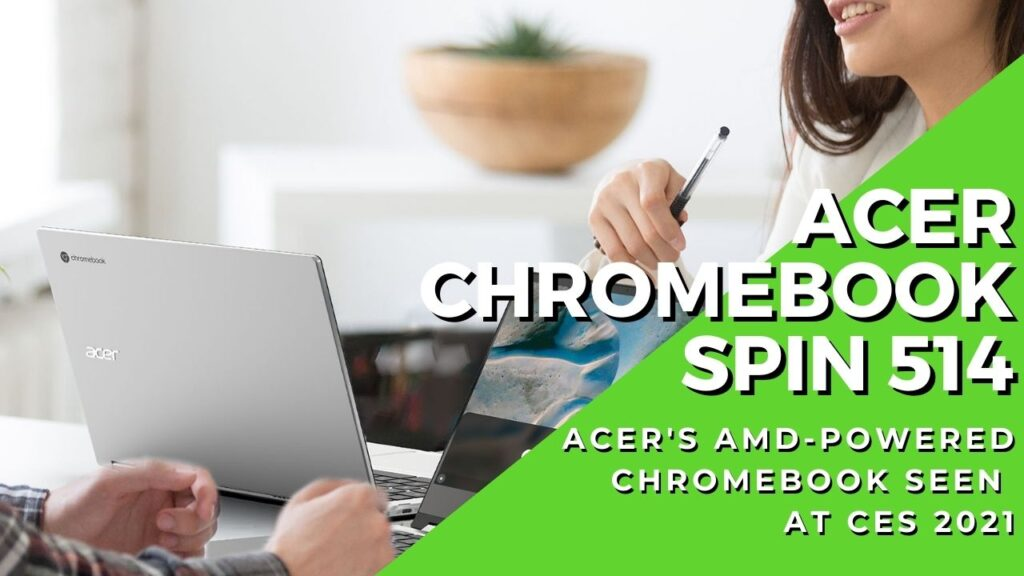 Acer Chromebook Spin 514 hero