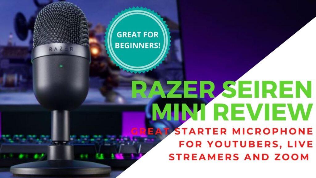 Razer Seiren Mini Review - Small in Size, Big in Performance 4