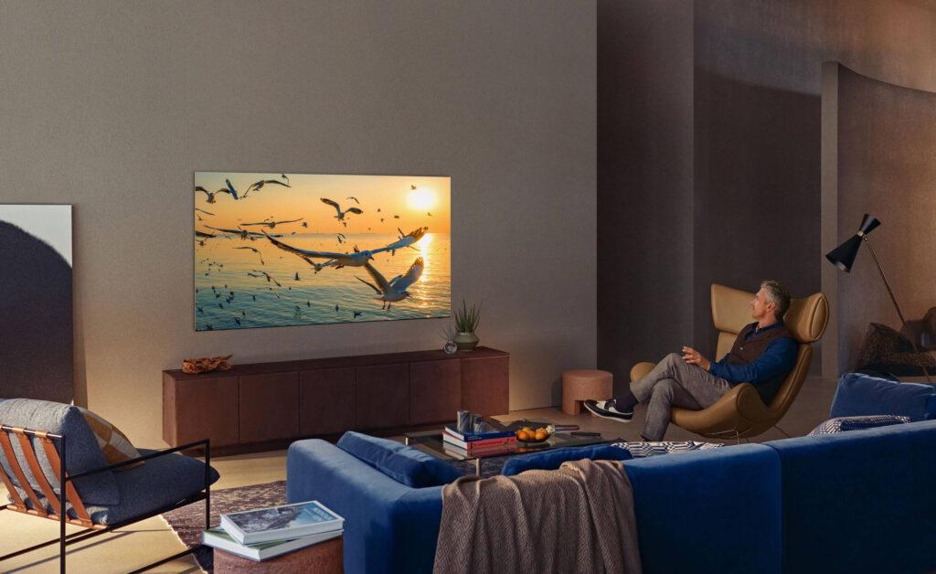 Samsung Neo QLED living room