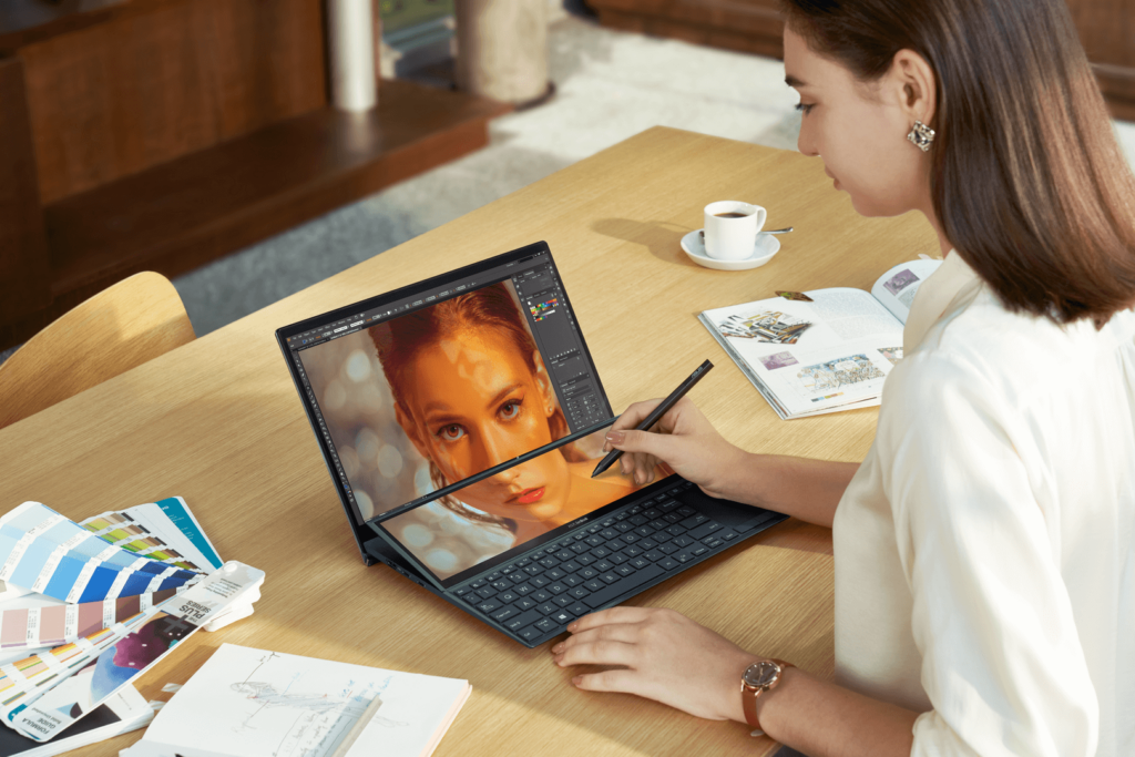 ASUS ZenBook 14 UX482 hero angled