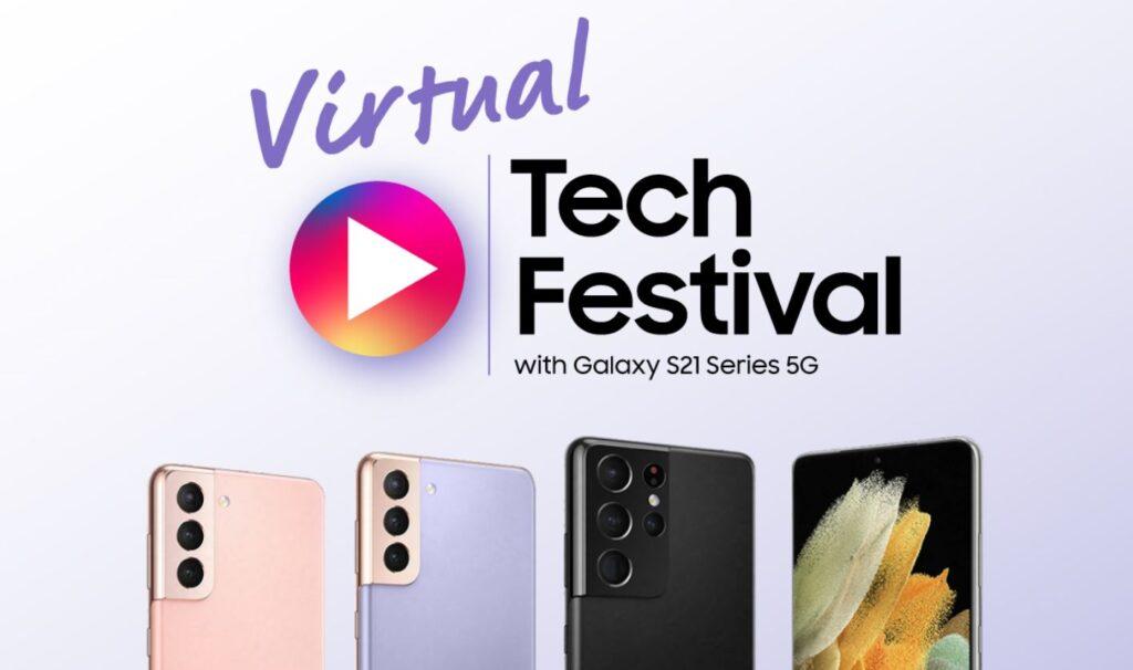 Samsung Virtual Tech Festival cover