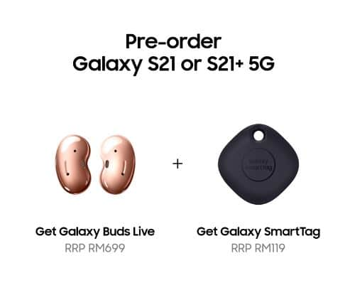 Samsung galaxy s21 series standard preorder