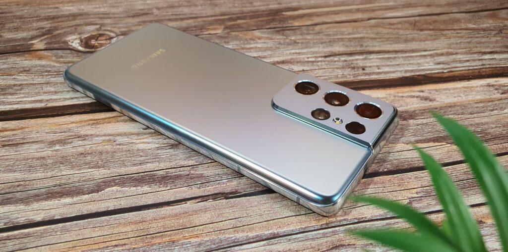 Samsung Galaxy S21 Ultra silver finish