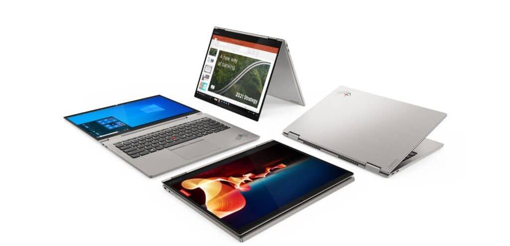 Lenovo ThinkPad X1 Titanium Yoga slide