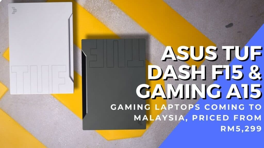 TUF DASH F15 and Gaming A15 hero cover