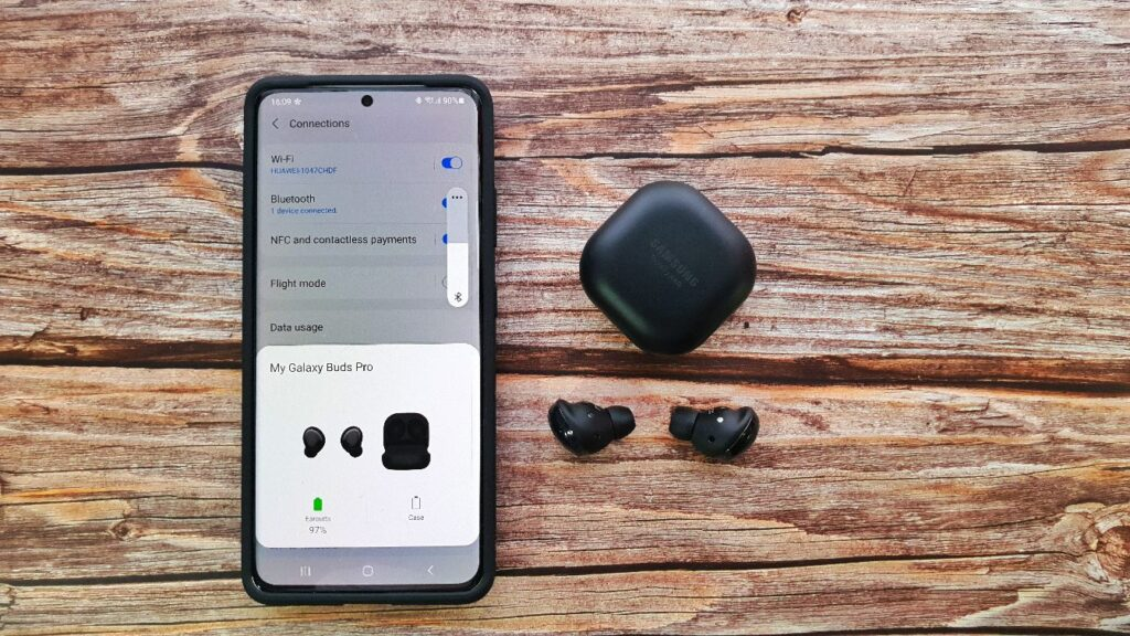 Samsung Galaxy Buds Pro Review top