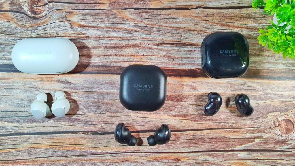 Galaxy Buds Plus, Pro and Live
