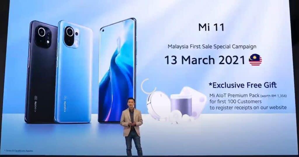 Xiaomi Mi 11 preorder date malaysia