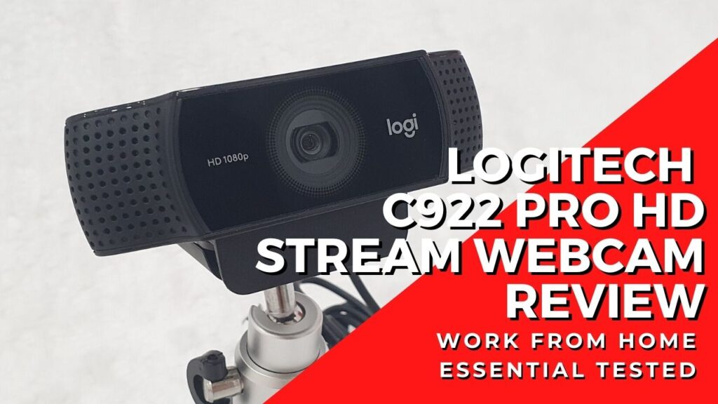 Logitech C922 Pro HD Stream Webcam Review - The Work from Home Essential 1