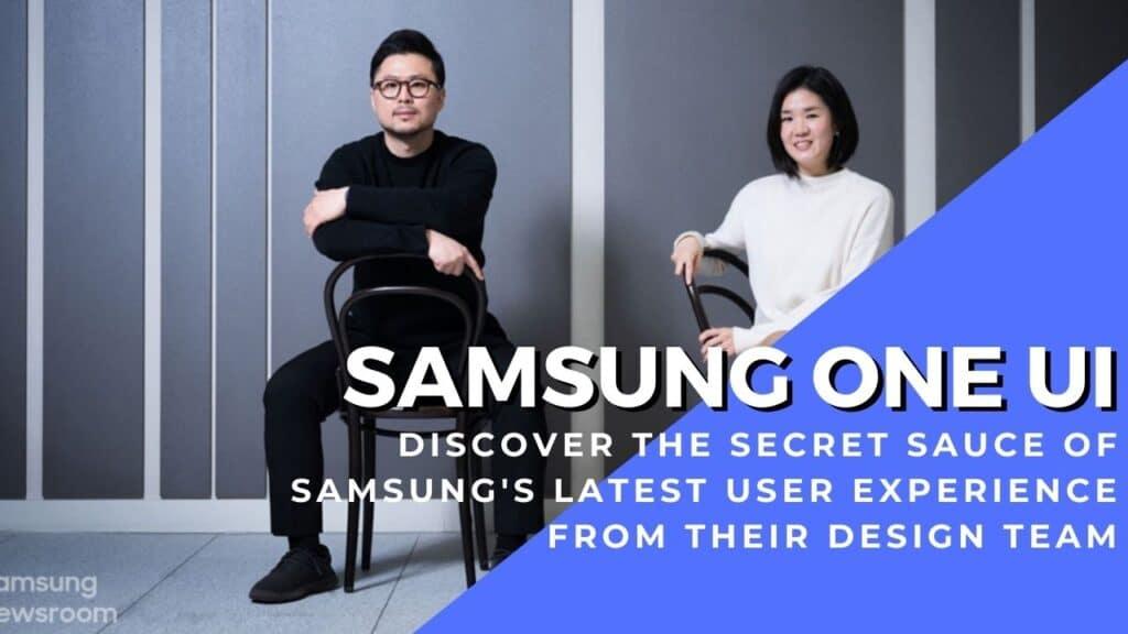 Samsung One UI team cover