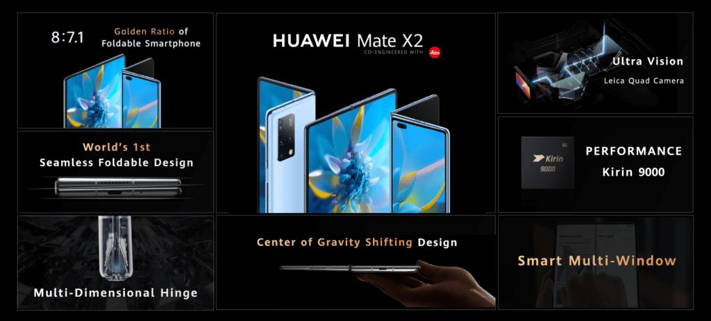 huawei mate x2 announced