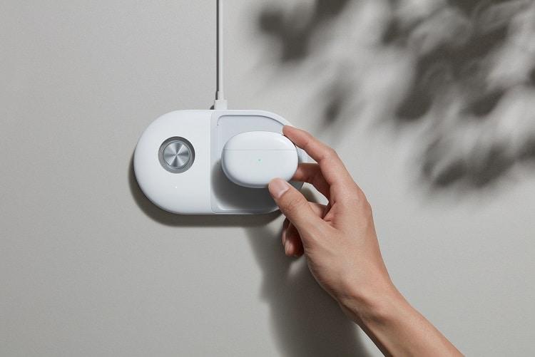 oppo enco X wireless charging