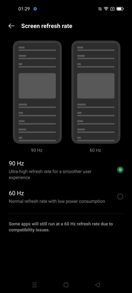 OPPO Reno5 5G Review 90hz screen