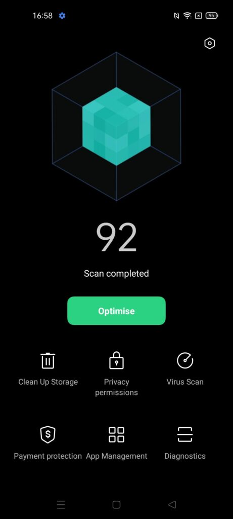 OPPO Reno5 5G Review phone manager