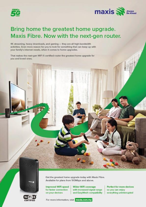 maxis fibre poster