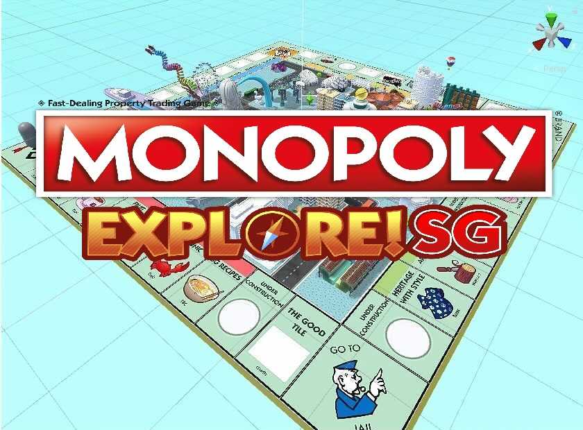 Monopoly Explore! SG mobile game cover