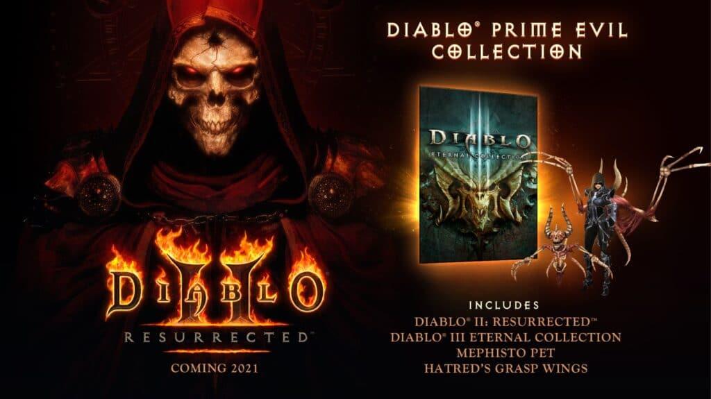Diablo 2 Resurrected preorder special