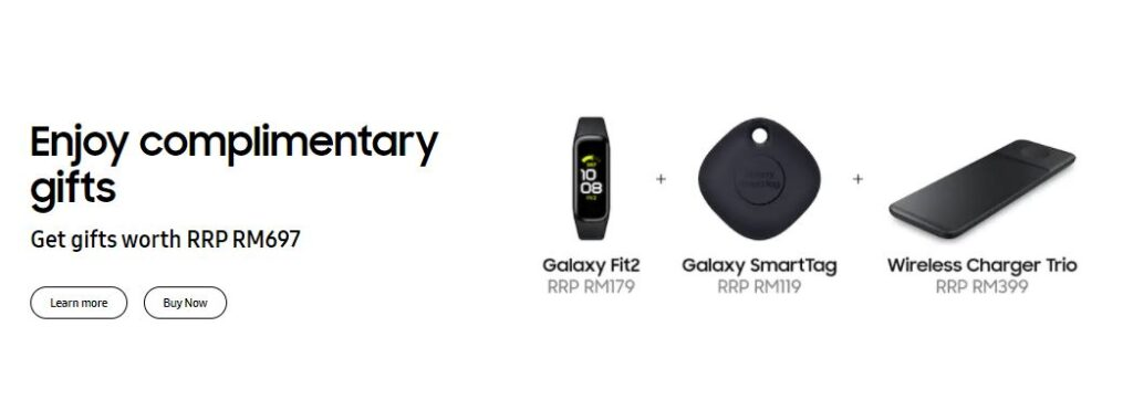 Galaxy S21 Ultra promos