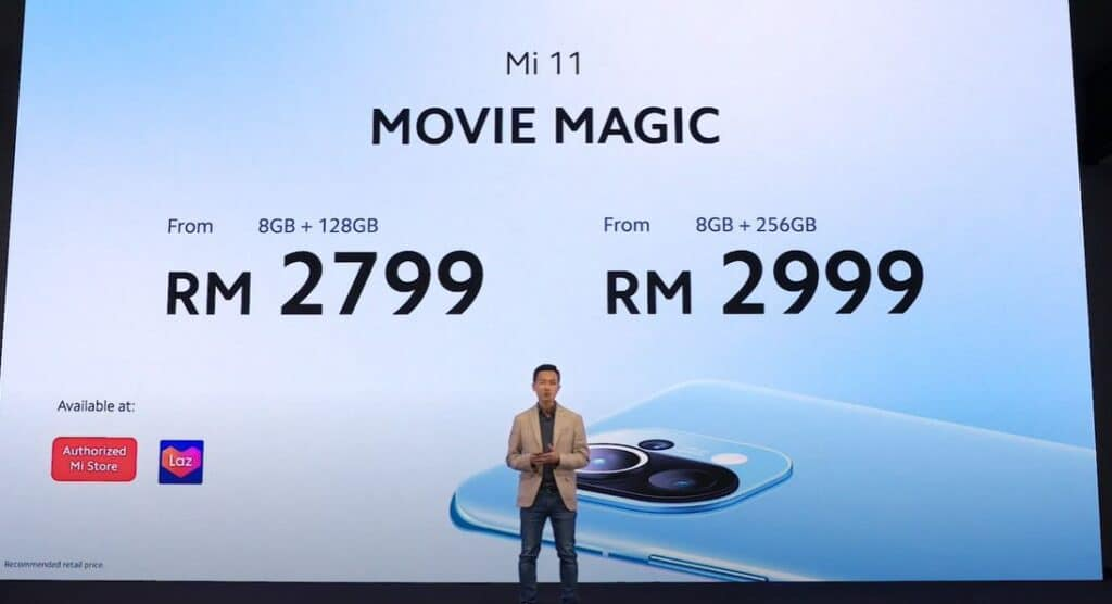 Xiaomi Mi 11 prices malaysia