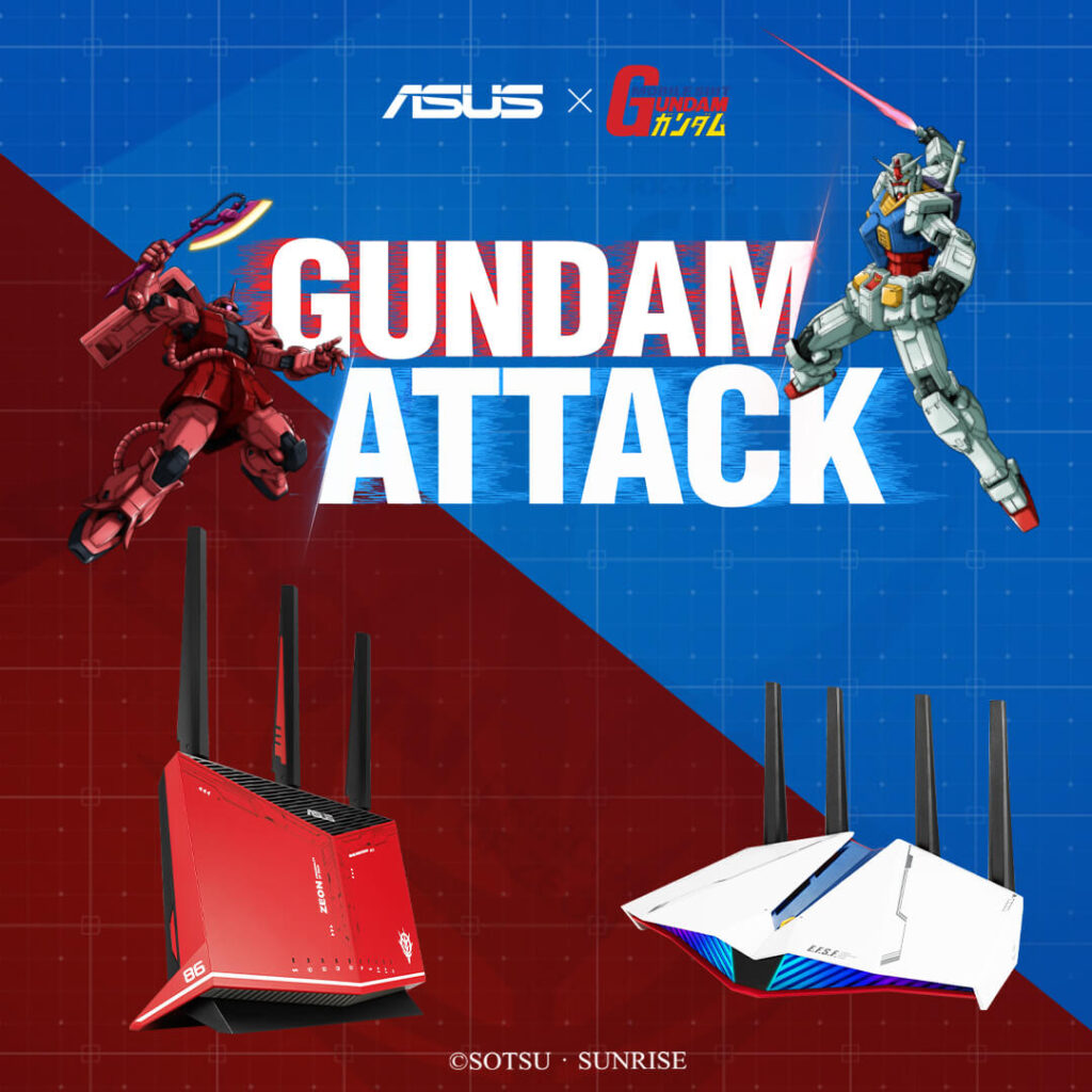 ASUS x Gundam Collection 3