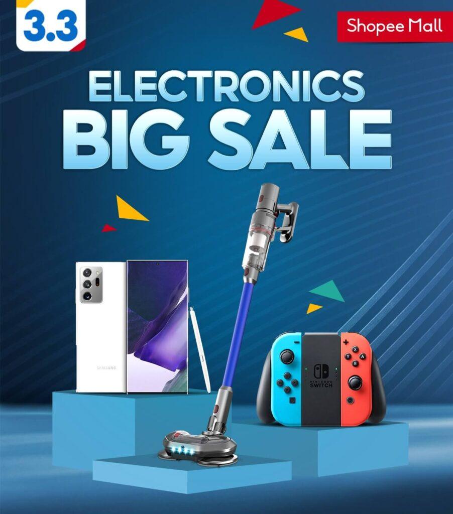 Shopee 3.3 Electronics Big Sale Sony PS5