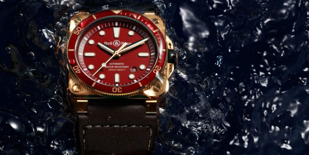 BR 03-92 Diver Red Bronze cover