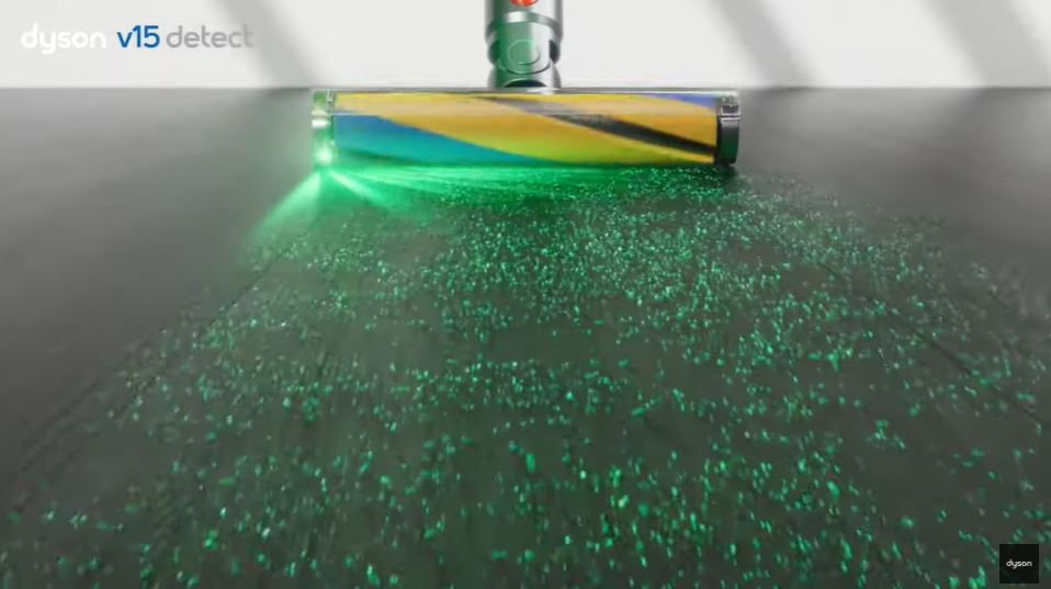 Dyson V15 Detect cordless vacuum dust buggers