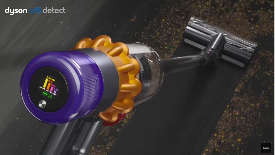 Dyson V15 Detect cordless vacuum hero