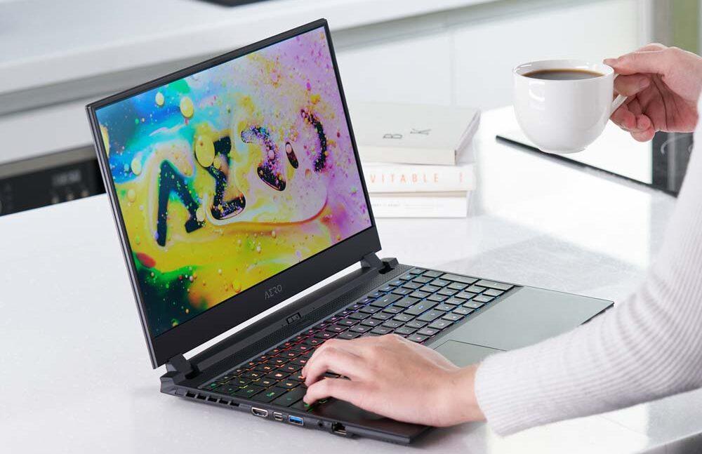 content creator laptops box