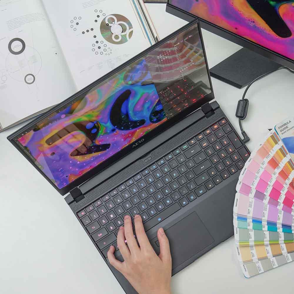 content creator laptops colour accuracy