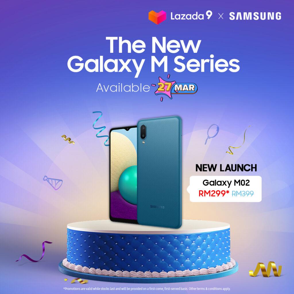 Galaxy M02 price